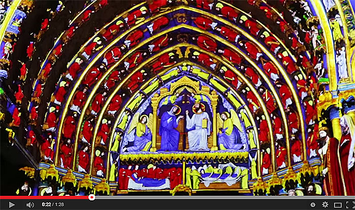 Chartres en Lumières 2014 - Teaser de lancement.