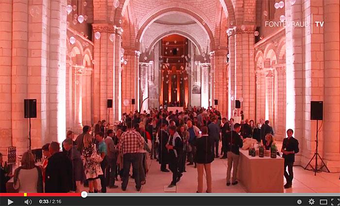 Festivini, le festival du vin à Fontevraud.