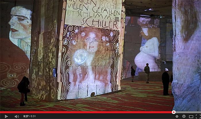 Klimt et le siècle d'or et de couleurs.