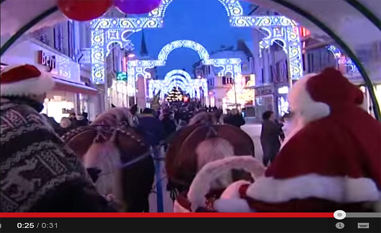 Lumières de Noël 2014 - ville de Montbéliard.