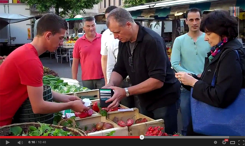 L'Agora des Chefs dans le jardin d'Eden du marché de Vienne (38)
