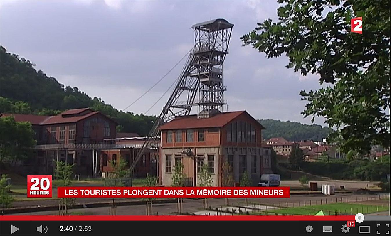 Reportage Musée de la Mine de Saint Etienne (Puits Couriot).