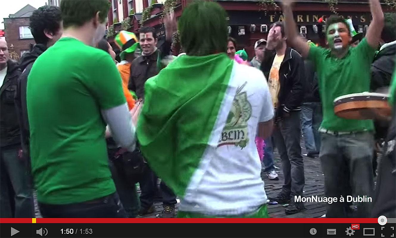 1/4 La Saint-Patrick à Dublin.