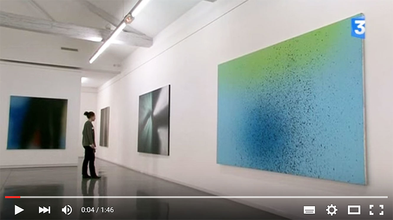 Hans Hartung Spray - Musée d'art contemporain Serignan - 2011.