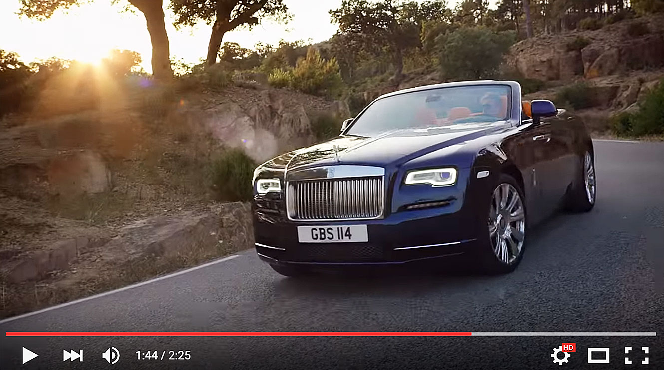 Introducing Rolls-Royce Dawn.