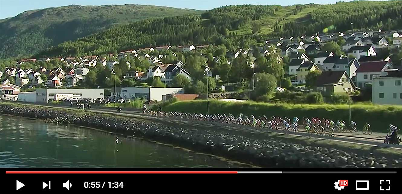 Arctic Race of Norway 2016 - Teaser