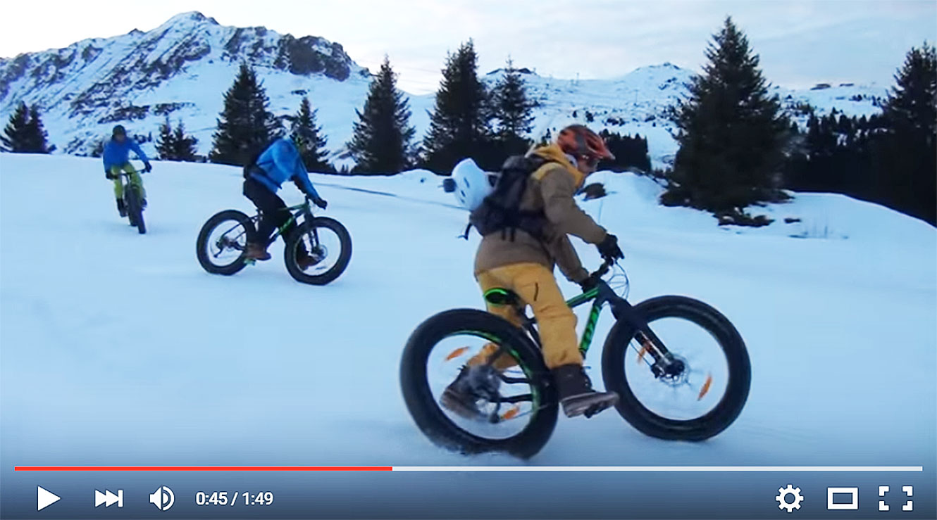Courchevel - Fatbike.