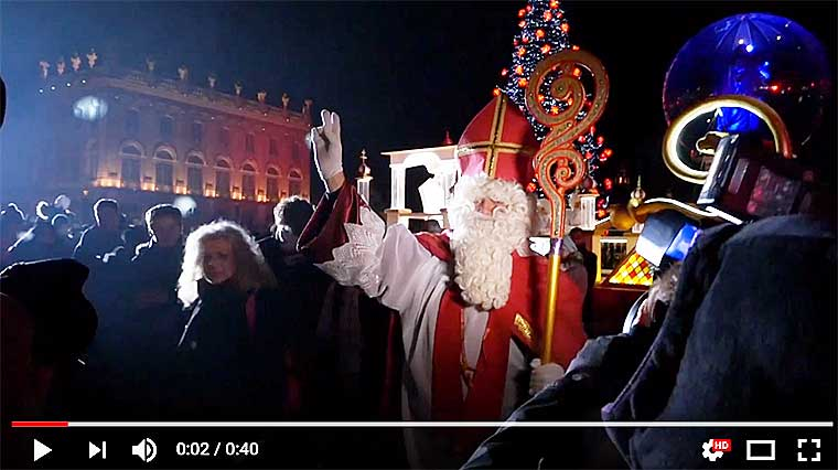 SAINT NICOLAS RETOUR À NANCY